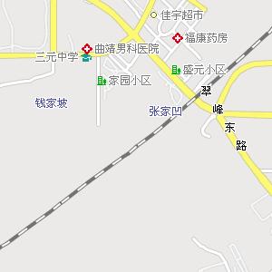 曲靖市区电子地图,曲靖市区地图 高清图片