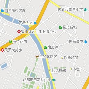四川大学附近地图