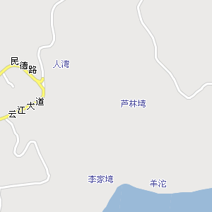 云阳县城电子地图,云阳城地图
