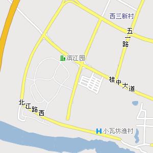 来宾市区电子地图,来宾市区地图