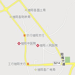 桂阳县城电子地图,桂阳城地图