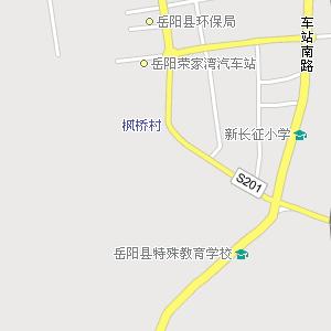 岳阳县城电子地图,岳阳城地图