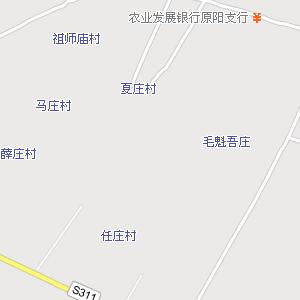原阳县城电子地图,原阳城地图
