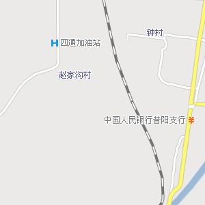 昔阳县城电子地图,昔阳城地图