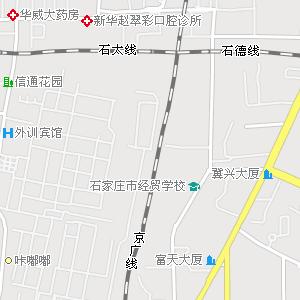 石家庄市宁安路小学附近地图