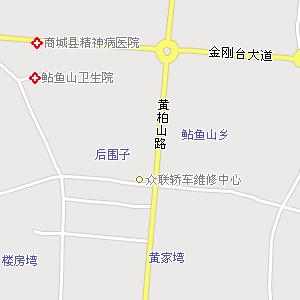 唐朝河南道地图