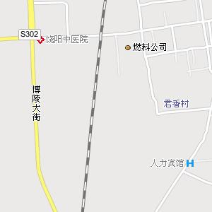 饶阳县城电子地图,饶阳城地图