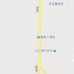 高阳县城电子地图,高阳城区街道地图