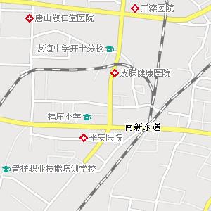 遵化地图,玉田地图