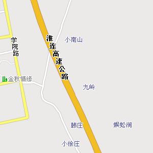 新海高级中学附近地图