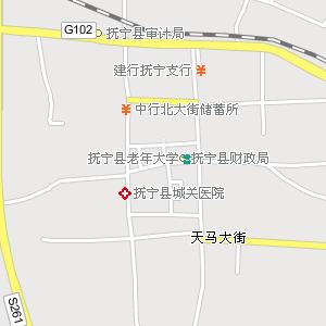 抚宁县地图_抚宁交通地图海港交通地图