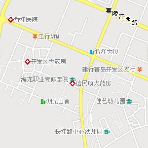 青岛如家快捷酒店(武夷山路店)附近地图