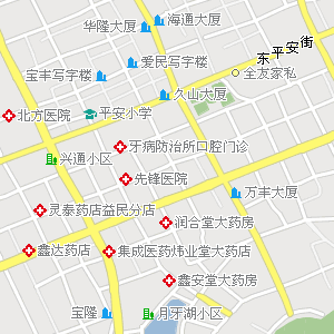 牡丹江市区电子地图,牡丹江市区地图