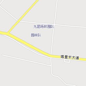 阿拉尔市区电子地图,阿拉尔市区地图
