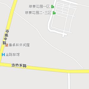 拉萨市城关区吉崩岗街道地图