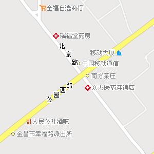 甘肃金昌金川地图,甘肃金川电子地图