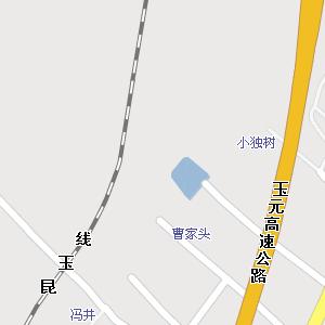 玉溪市红塔区玉带路街道地图