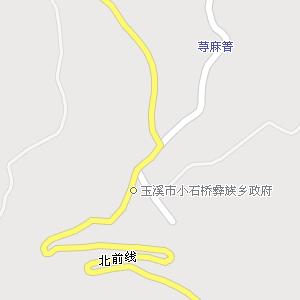 玉溪市红塔区小石桥彝族乡地图