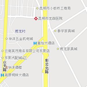 昆明市官渡区小板桥镇地图