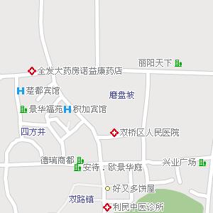 重庆双桥地图,重庆双桥电子地图
