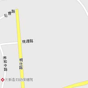 广西崇左大新地图,广西大新电子地图