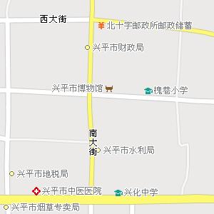 陕西咸阳兴平地图,陕西兴平电子地图