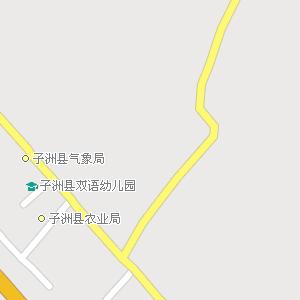 陕西榆林子洲地图,陕西子洲电子地图