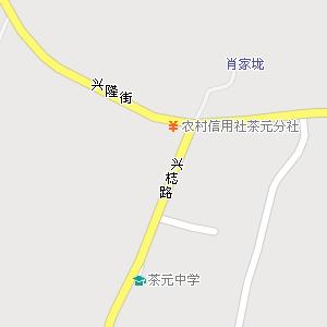 邵阳市北塔区茶元头乡地图