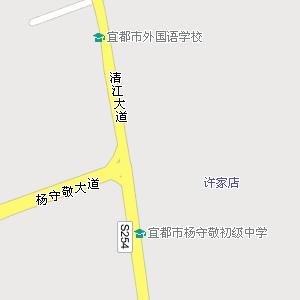 远安县行政地图
