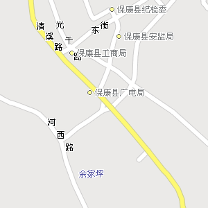 湖北襄樊保康地图,湖北保康电子地图