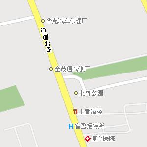 呼和浩特市回民区海拉尔西路街道地图