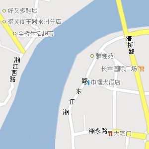 永州市冷水滩区菱角山街道地图