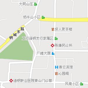 娄底市娄星区涟滨街道地图