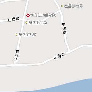 常德市澧县澧南乡地图
