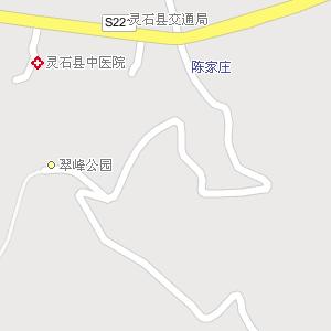 山西晋中灵石地图,山西灵石电子地图