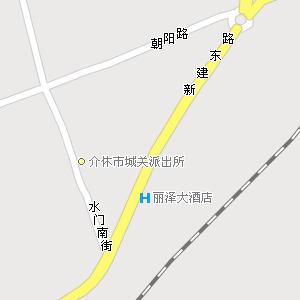 山西省晋中市介休市地图