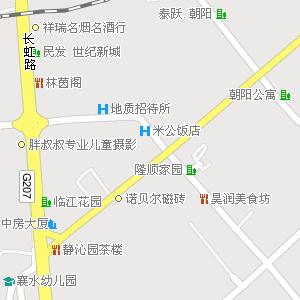 襄樊市樊城区米公街道地图图片