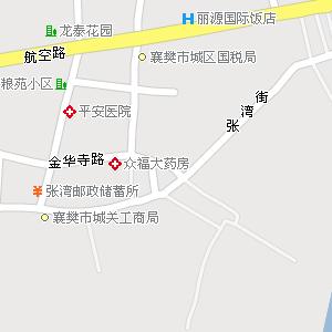 湖北省襄樊市襄阳区地图