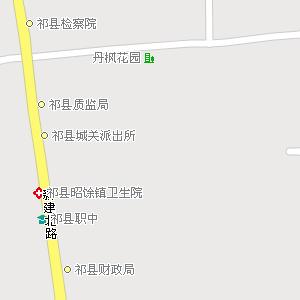 山西省晋中市祁县地图