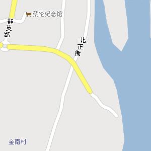 耒阳市地图 > 蔡子池街道地图