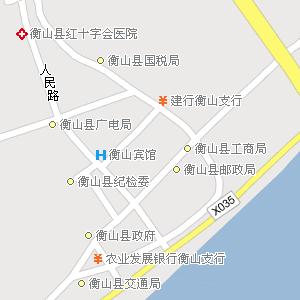 南岳衡山旅游地图