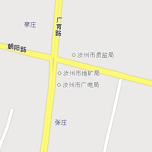 河南省平顶山市汝州市地图,汝
