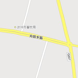 平顶山市汝州市钟楼街道地图