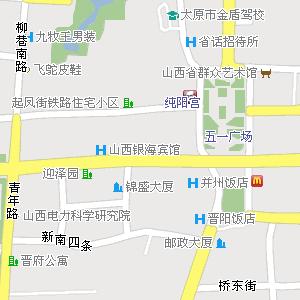 山西省太原市迎泽区地图