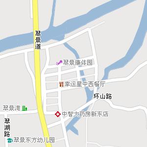 中山市西区街道地图图片