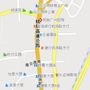 广州市白云区景泰街道地图