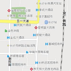 长沙市芙蓉区马王堆街道地图图片