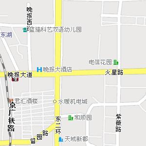 长沙市芙蓉区湘湖街道地图图片