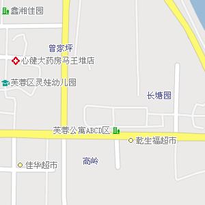长沙市芙蓉区东屯渡街道地图图片