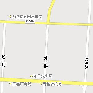 河南平顶山郏县地图相关图片展示